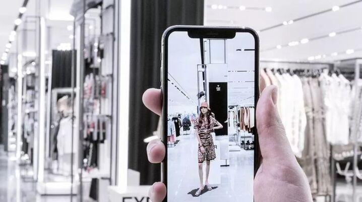 ZARA i Augmented reality (AR)